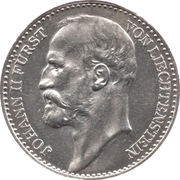1 couronne Jean II – avers