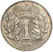 1 Krone - Johann II – revers