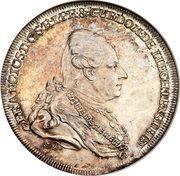½ Thaler - Franz Joseph I – avers
