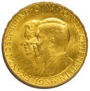 50 Franken - Franz Josef II – avers
