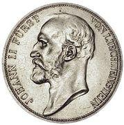 2 francs Jean II – avers