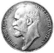 5 couronnes Jean II – avers