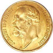 20 couronnes Jean II – avers