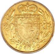 20 couronnes Jean II – revers