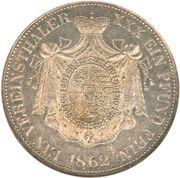 1 Thaler - Johann II – revers