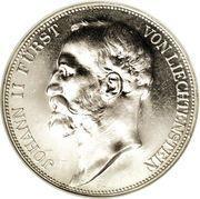 5 francs Jean II – avers