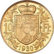 10 francs François Ier – revers