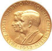 100 Franken - Franz Josef II – avers