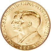 25 Franken - Franz Josef II -  avers