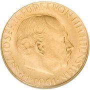 25 Franken - Franz Josef II – avers