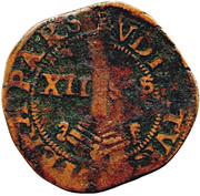 ½ Liard (12 sols) - Ernest de Bavière – revers