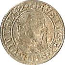 1 groschen Friedrich II – avers