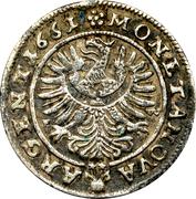 3 kreuzer Ludwig IV – revers