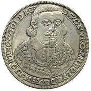 ⅛ Thaler - Georg III, Ludwig IV & Christian (Death of Georg Rudolf) – avers