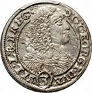 3 Kreuzer - Georg III – avers
