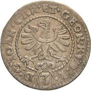 3 Kreuzer - Johann Christian & Georg Rudolf – avers