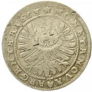 15 Kreuzer - Ludwig IV – revers