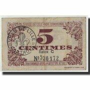 5 centimes - Ville de Lille [59] – revers