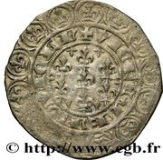 Gros - Charles de Blois – revers