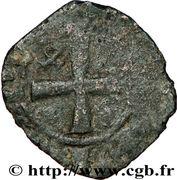 Denier - Jean III de Bretagne et Jeanne de Savoie – revers
