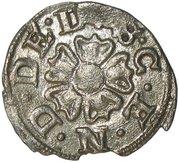 3 pfennig Simon VI. – avers