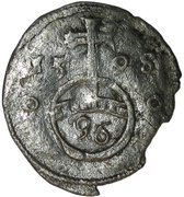 3 pfennig Simon VI. – revers