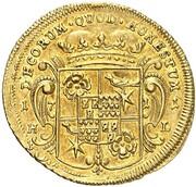 1 ducat Friedrich Adolf – revers