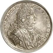 1 thaler Friedrich Adolf – avers