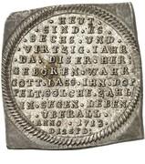 ¼ thaler Friedrich Adolf (Klippe) – revers