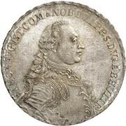 1 thaler Simon August – avers