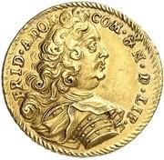 1 ducat Friedrich Adolf – avers