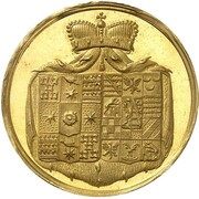 1½ ducat Friedrich Wilhelm Leopold (Naissance) – avers