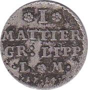 1 Mattier - Friedrich Adolf – revers