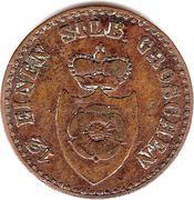 1 Pfenning - Paul Alexander Leopold II – avers