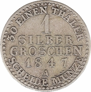 1 silber groschen - Paul Alexander Leopold II – revers