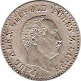 2½ silber groschen - Paul Alexander Leopold II – avers