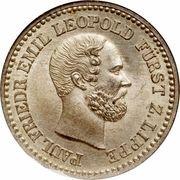1 silber groschen - Paul Friedrich Emil Leopold III – avers
