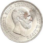 2½ Silbergroschen - Paul Friedrich Emil Leopold III – avers