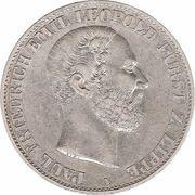 1 vereinsthaler - Paul Friedrich Emil Leopold III – avers