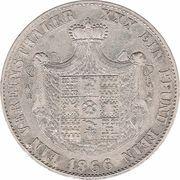 1 vereinsthaler - Paul Friedrich Emil Leopold III – revers