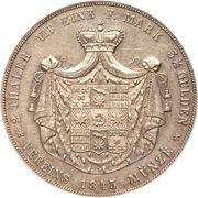 2 thaler / 3½ gulden - Paul Alexander Leopold II – revers