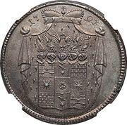 1 Gulden - Friedrich Wilhelm Leopold (gulden de prix gagnant) – avers