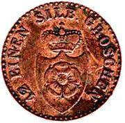 1 Pfenning - Paul Friedrich Emil Leopold III – avers