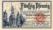 50 Pfennig (Lippe, Principality of) -  avers