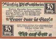 50 Pfennig (List) – avers