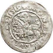 Półgrosz - Zygmunt I (Lithuania) – avers