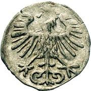 Denar litewski-Sigismond II Auguste – revers
