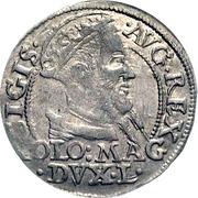 Grosz litewski - Sigismond II Auguste (différent polonais - 2e type) – avers