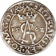 3 Grosze - Zygmunt II August (Lithuania) – avers