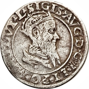 Czworak litewski - Sigismond II Auguste – avers